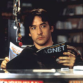 John Cusack as a record store owner