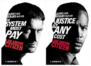 Butler vs. Foxx in Law Abiding Citizen
