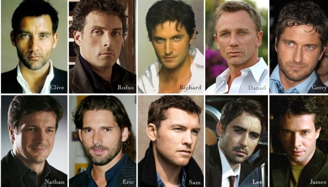 My leading men wish list