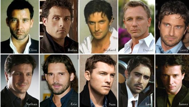 My leading men wish list