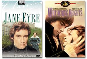 Dalton as Bronte Sisters' Heroes