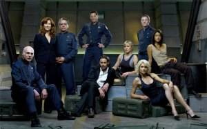The Cast of Ron Moore's BSG Series