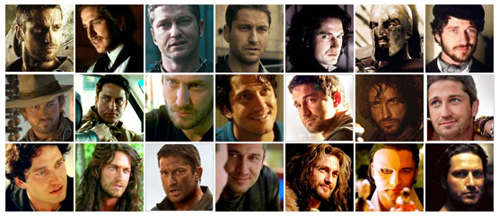 The Many Faces of Gerard Butler