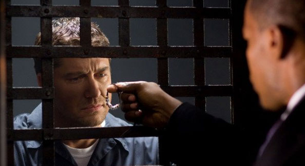 Nick visits Clyde in prison