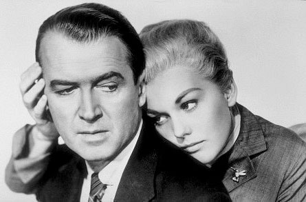 James Stewart & Kim Novak