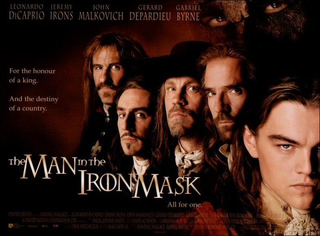Friday Guilty Pleasure Flix: The Man in the Iron Mask ...