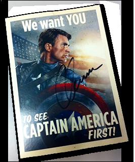 CapAmericaSignedPostcard