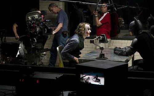 bts Dark Knight interrogation scene