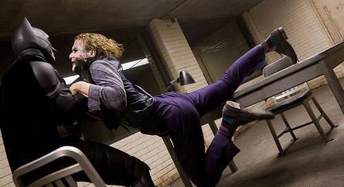 Batman Joker Interrogation Scene