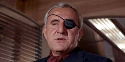 Adolfo Celi plays the villainous Emilio Largo in Thunderball