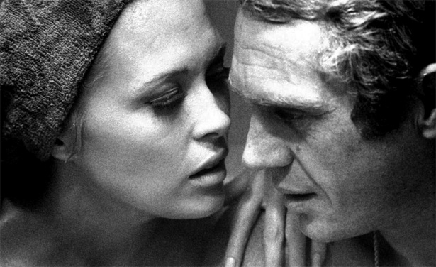 McQueen & Faye Dunaway - The Thomas Crown Affair