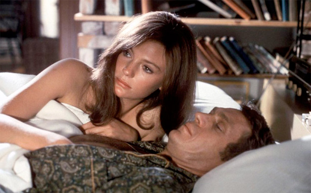With Jacqueline Bisset in Bullitt