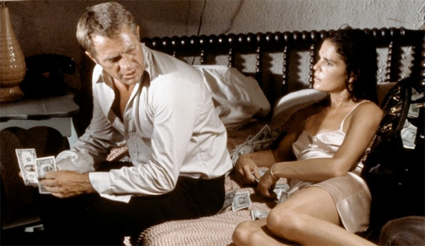 McQueen and Ali MacGraw - The Getaway