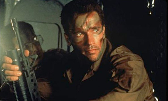 "Major ""Dutch"" Schaefer (Arnold Schwarzenegger) – 'Predator'"