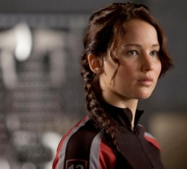Jennifer Lawrence as Katniss Everdeen (The Hunger Games)