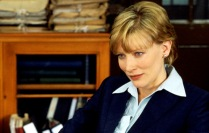 Cate Blanchett as Irish crime reporter Veronica Guerin