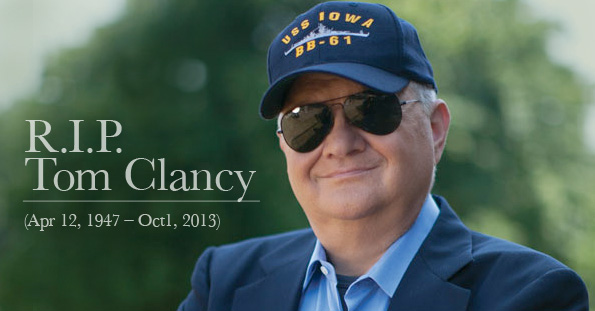 The life and work of the american writer tom clancy