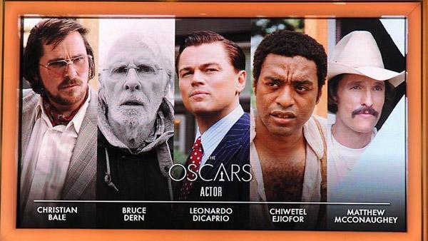 OscarBestActorNominees