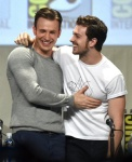 Chris Evans & Aaron Taylor-Johnson – MARVEL Avengers panel
