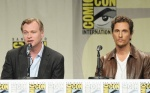 Christopher Nolan & Matthew McConaughey in Interstellar panel