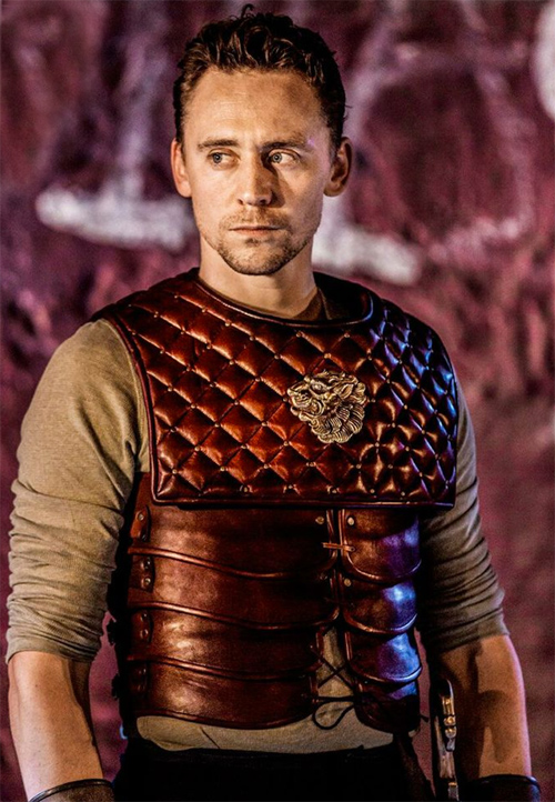 Hiddles as Coriolanus at Donmar Warehouse, London