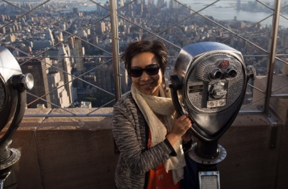 Top of the world... well just Empire State Bldg