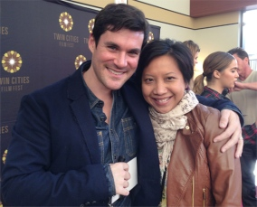 Me w/ the gorgeous & sweet Sean Maher