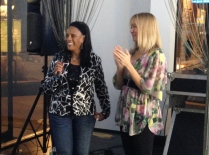 Vednita Carver accepting TCFF Community Change Maker Award
