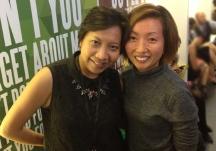 Me & my pal Julie at the Friday Mixer