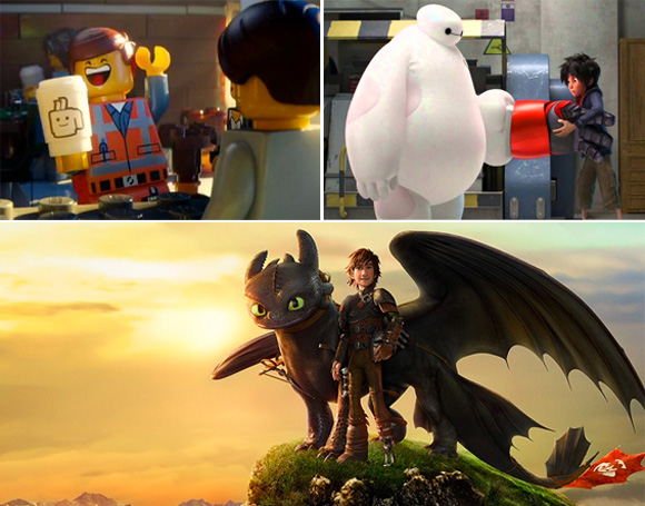 Top3FaveAnimatedFeatures2014