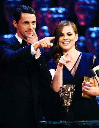 Matthew Goode & Hayley Atwell ... We need to see THIS duo together on screen!