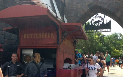 BUTTERBEER is everywhere!