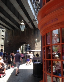 So many great details in Diagon Alley