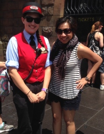 The lovely & helpful Hogwarts attendant