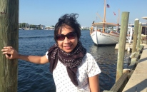 Lovely breeze by the harbor