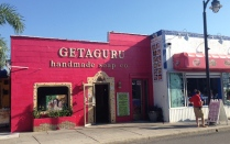 Just one of the cute little shops lining up the downtown area