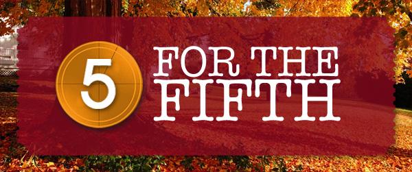 FiveForFifthAutumn2015