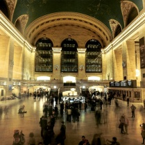 [hubby's shot] Grand Central Station, just 7 blocks from our loft