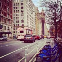 Central Park West street