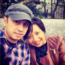 Quick selfie on Whisper Bench, Shakespeare Garden, Central Park