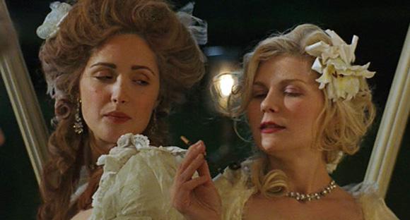 Rose Byrne with Kirsten Dunst