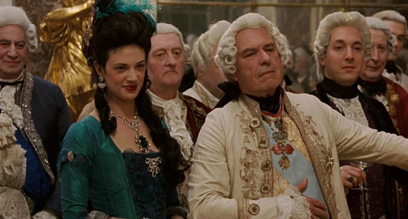 Asia Argento as Comtesse du Barry & Rip Torn as Louis XV