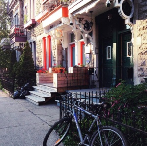 The cutest house in Montréal Latin Quarter