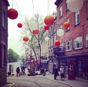 Can't get enough of Le Petit Champlain, my fave street ever in all of Québec!