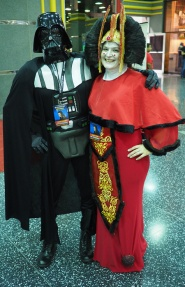 Vader & Queen Amidala in happier times