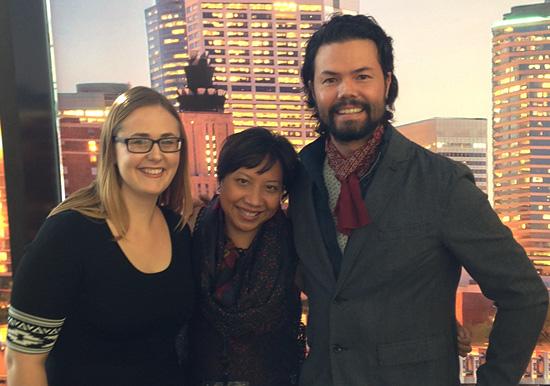 With Kate Sloate & Bailey Kobe