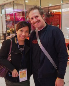 with the delightful Remy Auberjonois