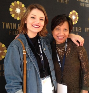 with fellow blogger Emmylou