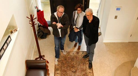 Behind the scene – Production designer Trae King, producer Deborah Parker and director Jonathan Parker