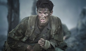 Garfield as Desmond Doss
